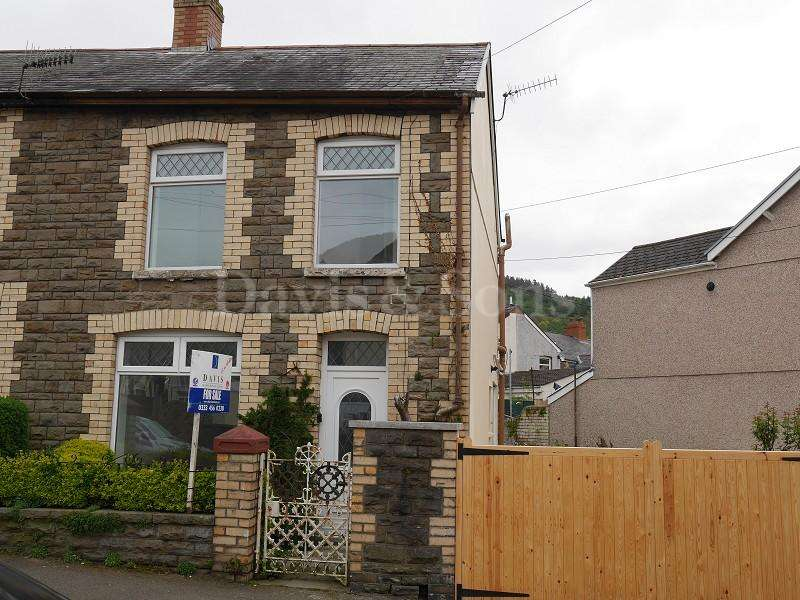 2 Bedrooms End Of Terrace House for sale in John Street, Cwmcarn, Newport. NP11