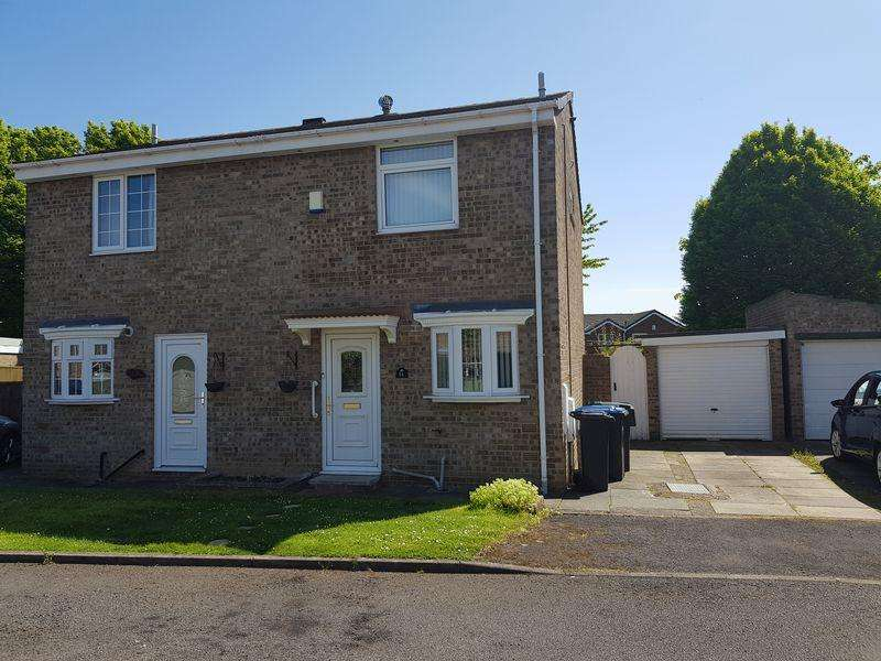 2 Bedrooms Semi Detached House for rent in Hollowfield, Coulby Newham