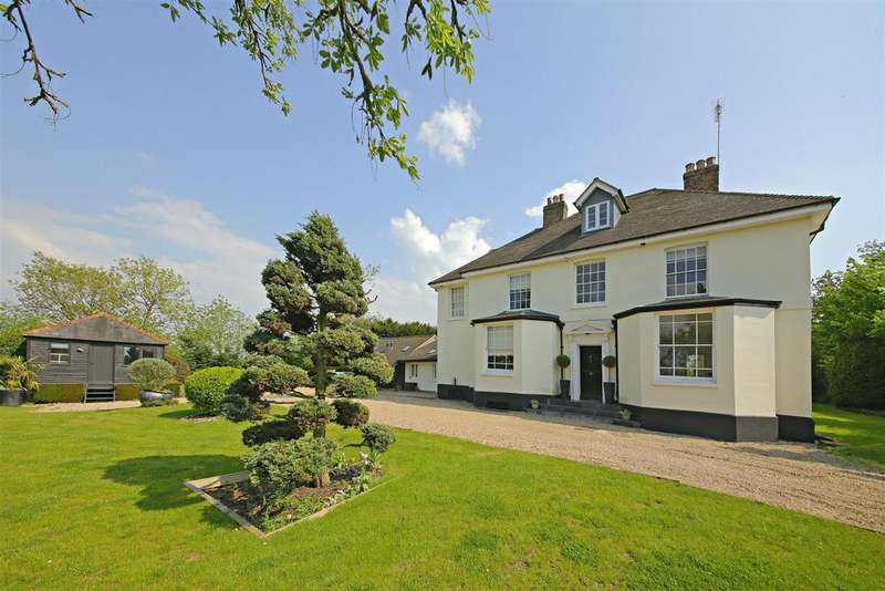 5 Bedrooms Detached House for sale in Deeves Hall Lane, Ridge, Shenley