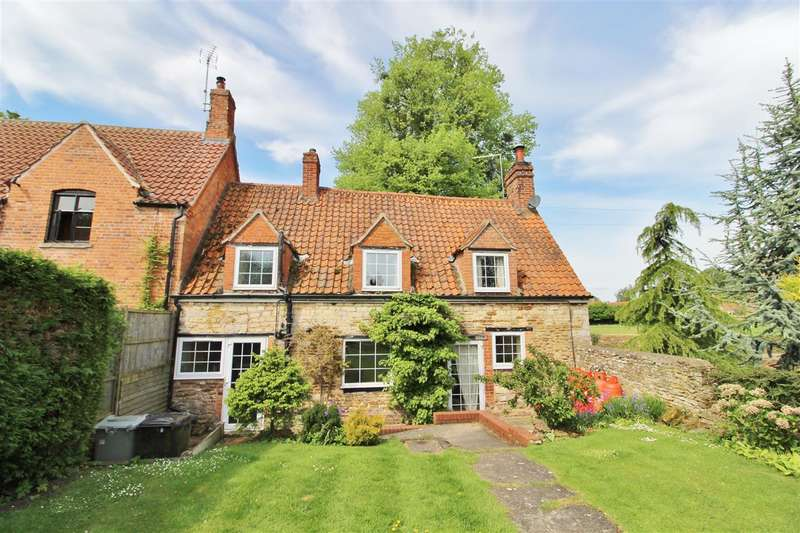 2 Bedrooms Cottage House for sale in Grantham Road, Hough-On-The-Hill, Grantham