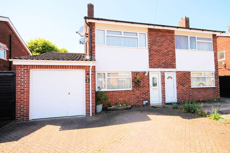 4 Bedrooms Semi Detached House for sale in Bents Close, Clapham, MK41