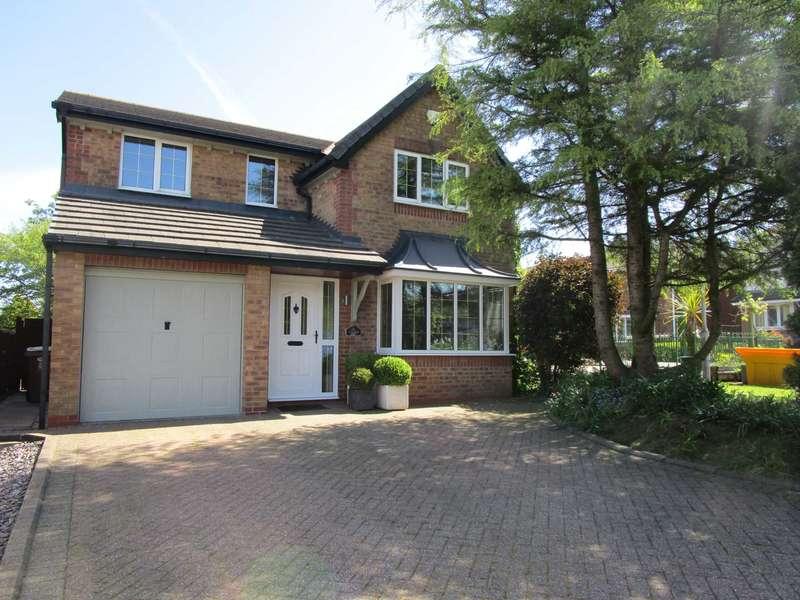 4 Bedrooms Detached House for sale in Badger Close, Burnedge