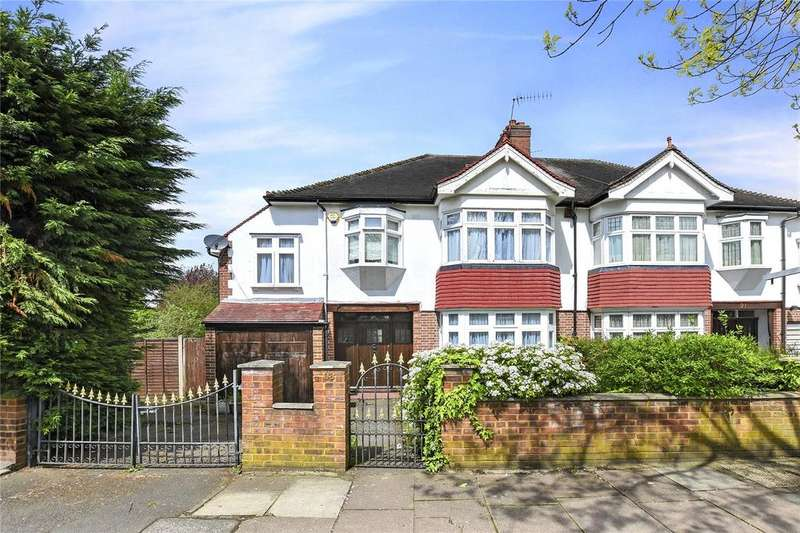 4 Bedrooms Semi Detached House for sale in Cleveland Road, Ealing, W13