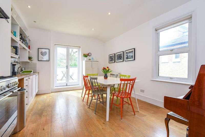 3 Bedrooms Maisonette Flat for sale in Franciscan Road, Tooting Bec
