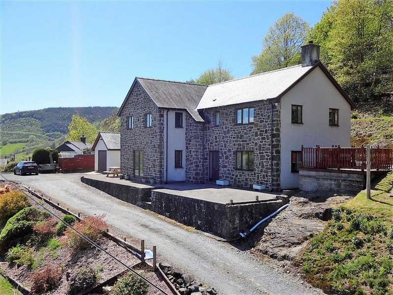 4 Bedrooms Detached House for sale in Rhiangell, Aberangell, Machynlleth, Powys, SY20