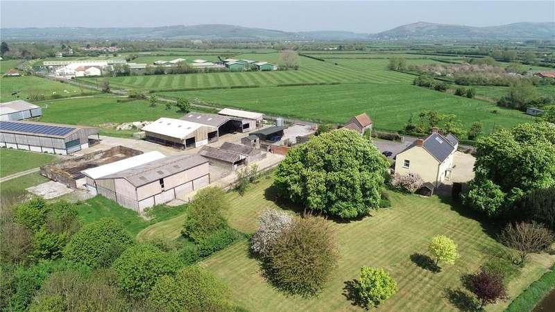 6 Bedrooms Detached House for sale in Mendip Road, Rooksbridge, Axbridge, Somerset, BS26