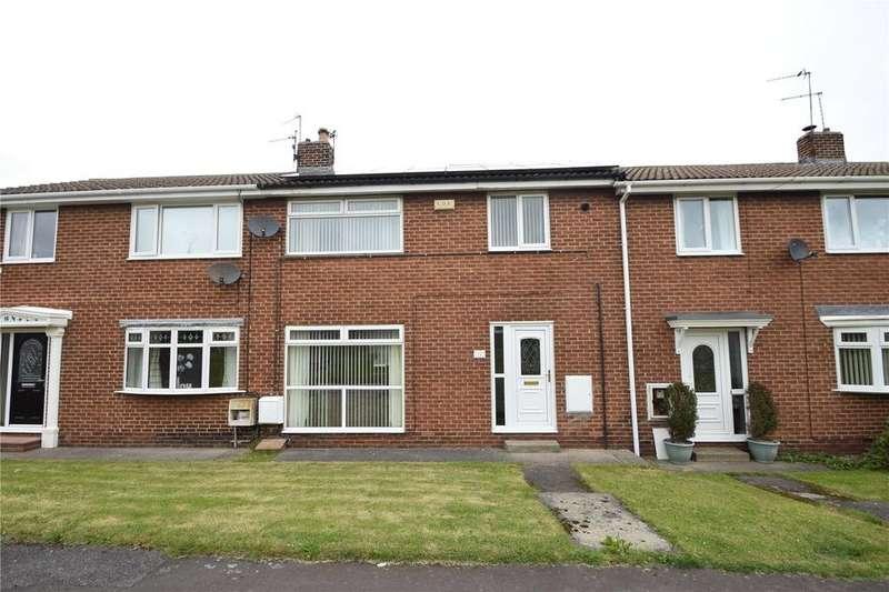 3 Bedrooms Terraced House for sale in Hesledon Walk, Murton, Seaham, Co. Durham, SR7