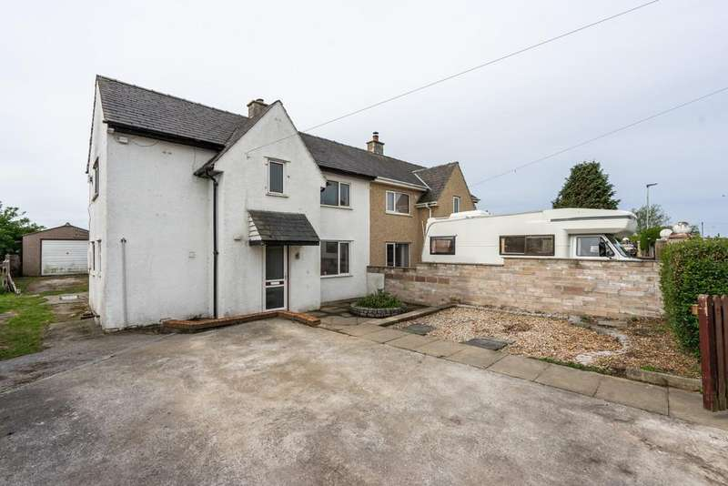 3 Bedrooms Semi Detached House for sale in Windermere Road, Carnforth, Lancashire, LA5 9AR