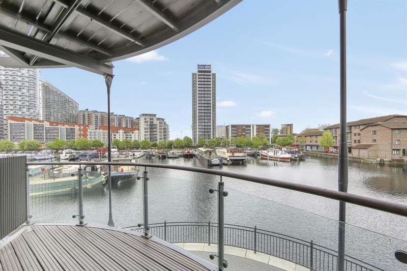2 Bedrooms Apartment Flat for sale in Boardwalk Place, Canary Wharf, E14