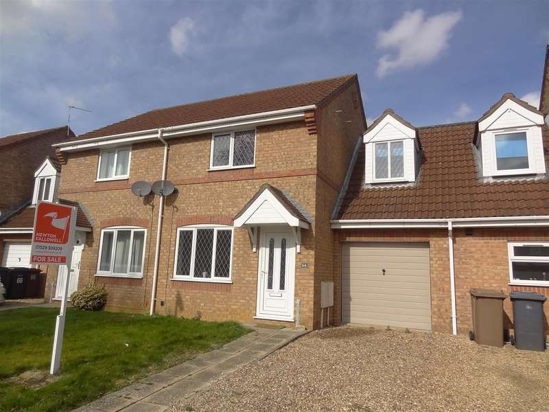 3 Bedrooms Detached House for sale in Winchester Way, Sleaford