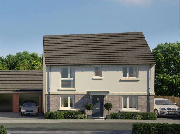 4 Bedrooms Detached House for sale in Godrevy Parc, Hayle, Cornwall