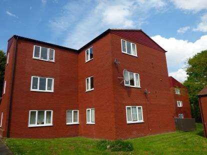 3 Bedrooms Flat for sale in Hall Park Close, Littleover, Derby, Derbyshire