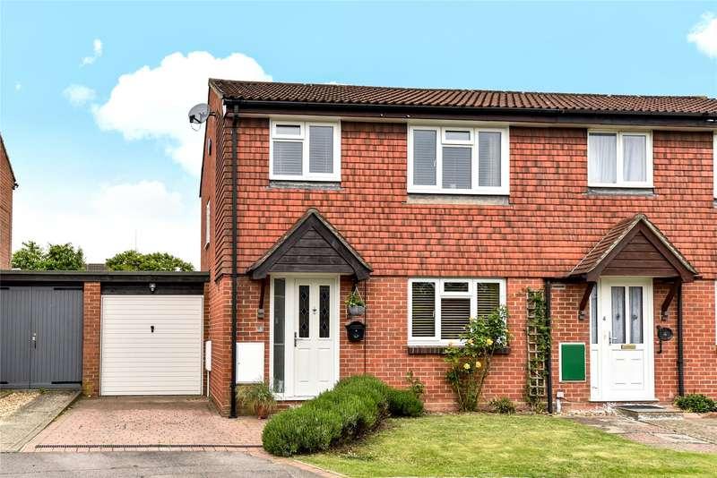 3 Bedrooms Semi Detached House for sale in Sonninge Close, College Town, Sandhurst, Berkshire, GU47