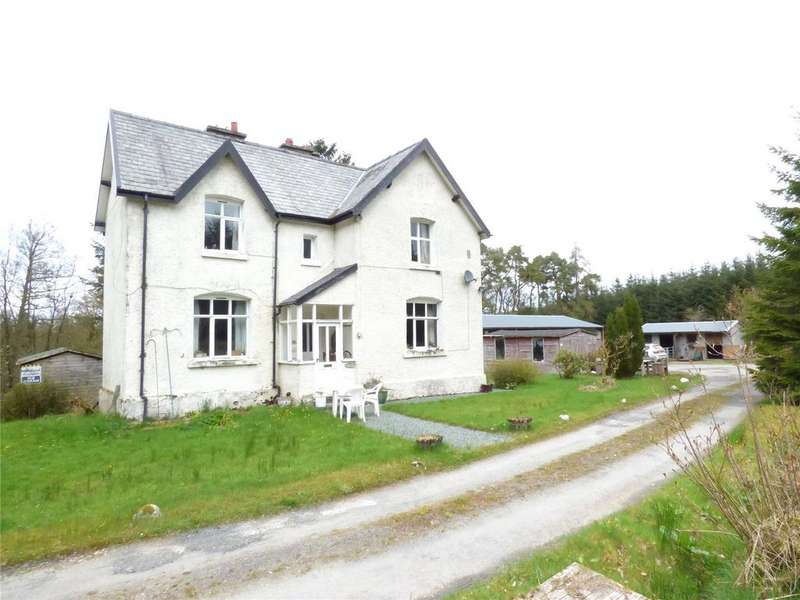 5 Bedrooms Detached House for sale in St. Harmon, Rhayader, Powys