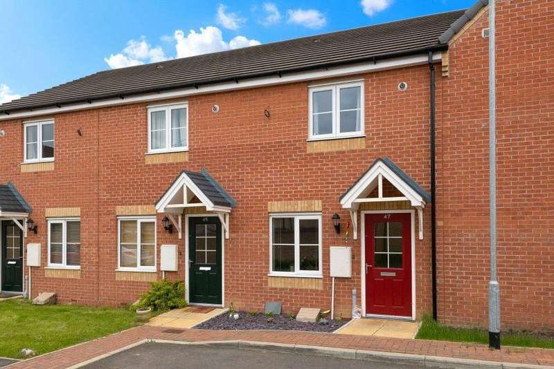 2 Bedrooms Terraced House for sale in Brooklands Way, Bourne, PE10