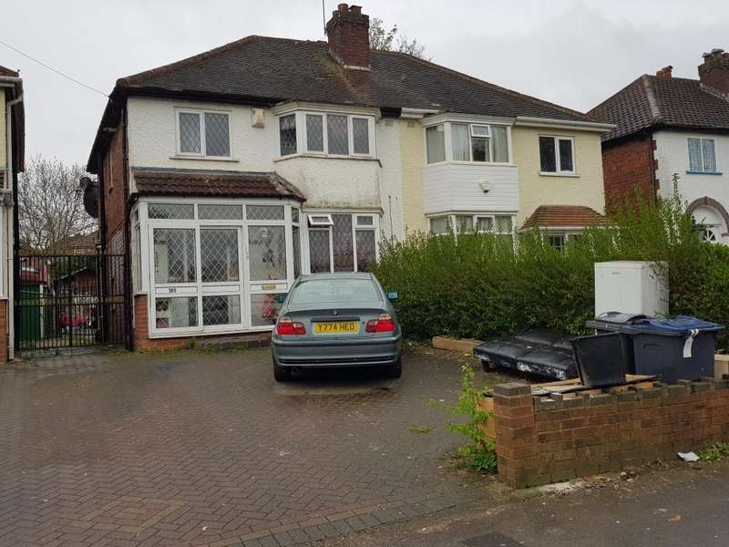 3 Bedrooms Semi Detached House for sale in , OXHILL RD, BIRMINGHAM, B21