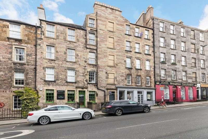 1 Bedroom Ground Flat for sale in 69 PF1, Broughton Street, EDINBURGH, EH1 3RJ