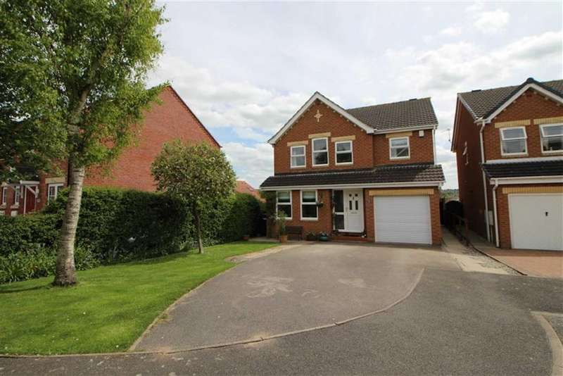 4 Bedrooms Detached House for sale in Beeley Close, Belper, Derbyshire