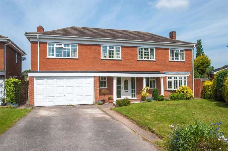 5 Bedrooms Detached House for sale in Bramley Way, Whittington