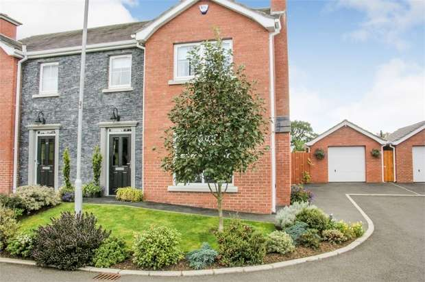 3 Bedrooms Semi Detached House for sale in 47 Scarvagh Heights, Scarva, Craigavon, County Down