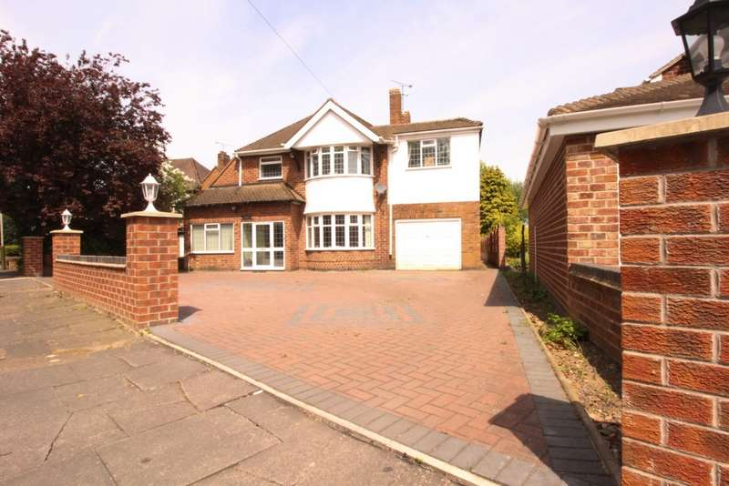 4 Bedrooms Detached House for sale in Uppingham Road, Leicester, LE5