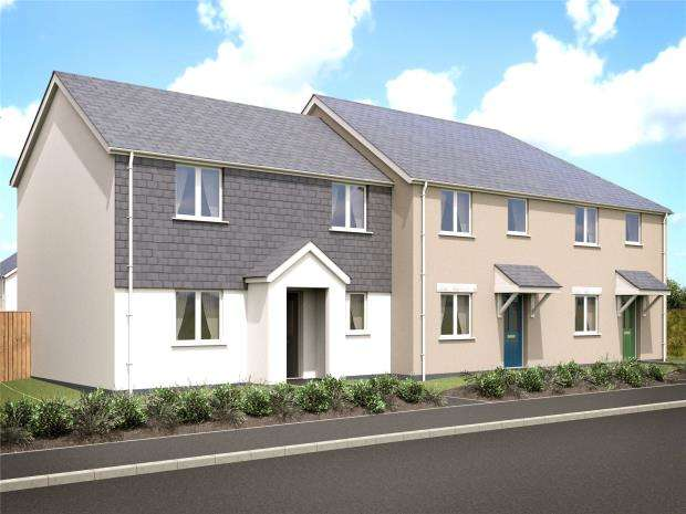 3 Bedrooms End Of Terrace House for sale in Valley View, Rally Close, Lanreath, Looe