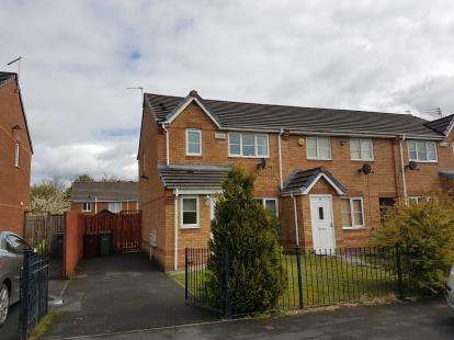 3 Bedrooms Semi Detached House for sale in Appleford Avenue, Manchester, .