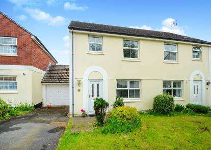 3 Bedrooms Semi Detached House for sale in Chudleigh, Newton Abbot, Devon