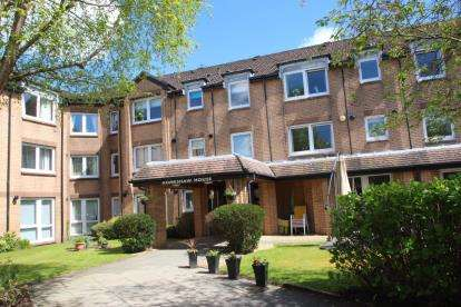 1 Bedroom Retirement Property for sale in Homeshaw House, 27 Broomhill Gardens