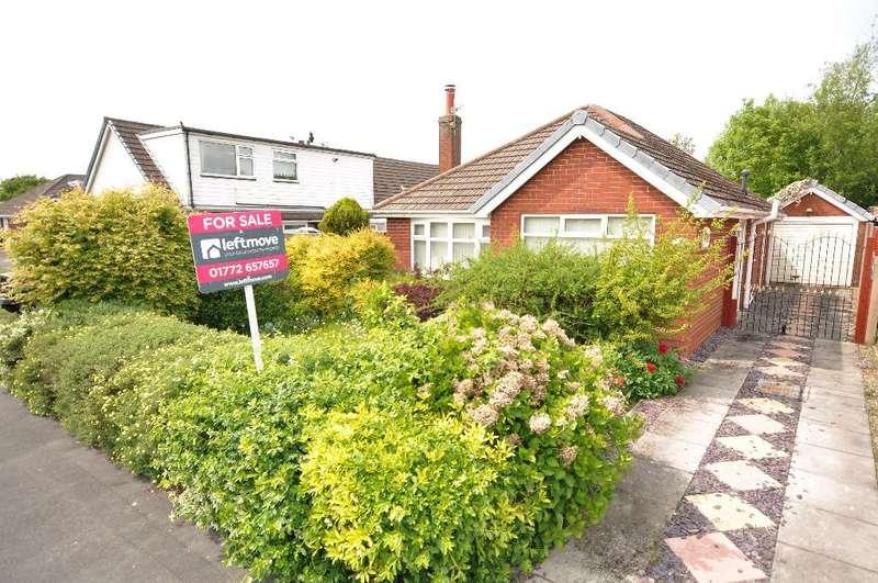 2 Bedrooms Detached Bungalow for sale in Elm Avenue, Warton, Preston, Lancashire, PR4 1BU