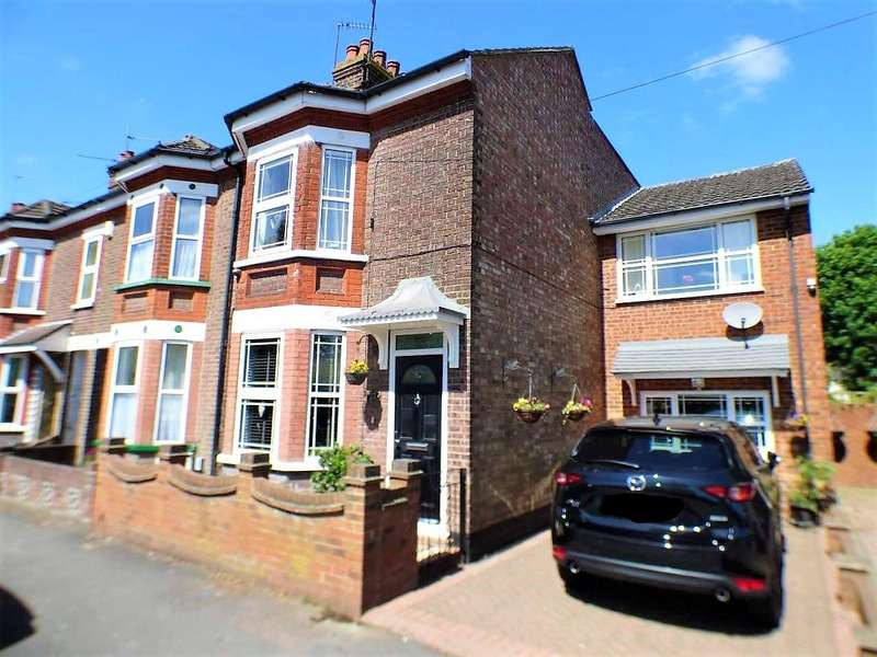 4 Bedrooms End Of Terrace House for sale in West Parade, Dunstable