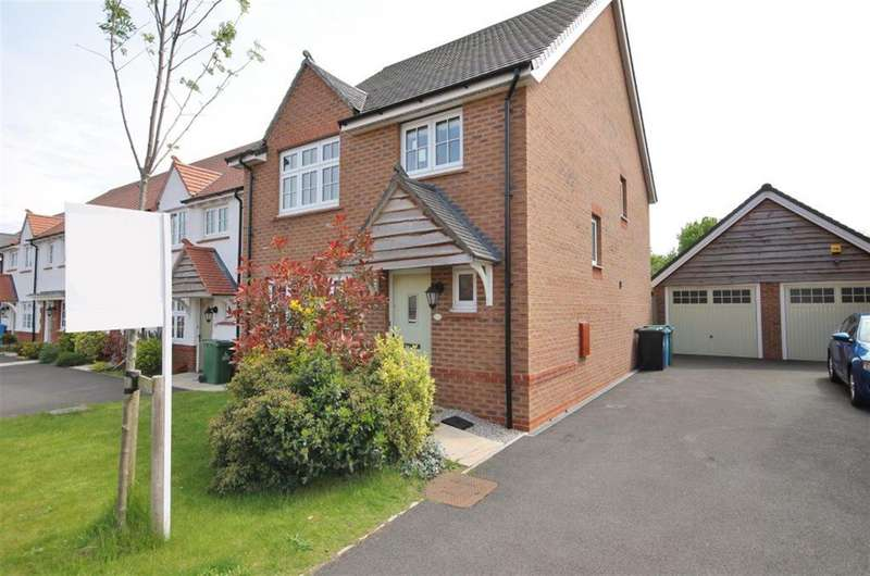 4 Bedrooms Detached House for sale in Honey Spot Crescent, Widnes, WA8 3AL
