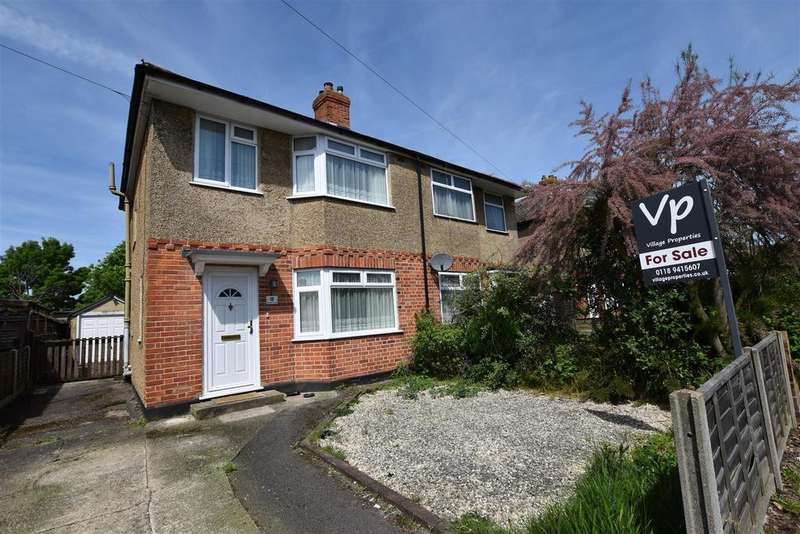 3 Bedrooms Semi Detached House for sale in Westlands Avenue, Reading