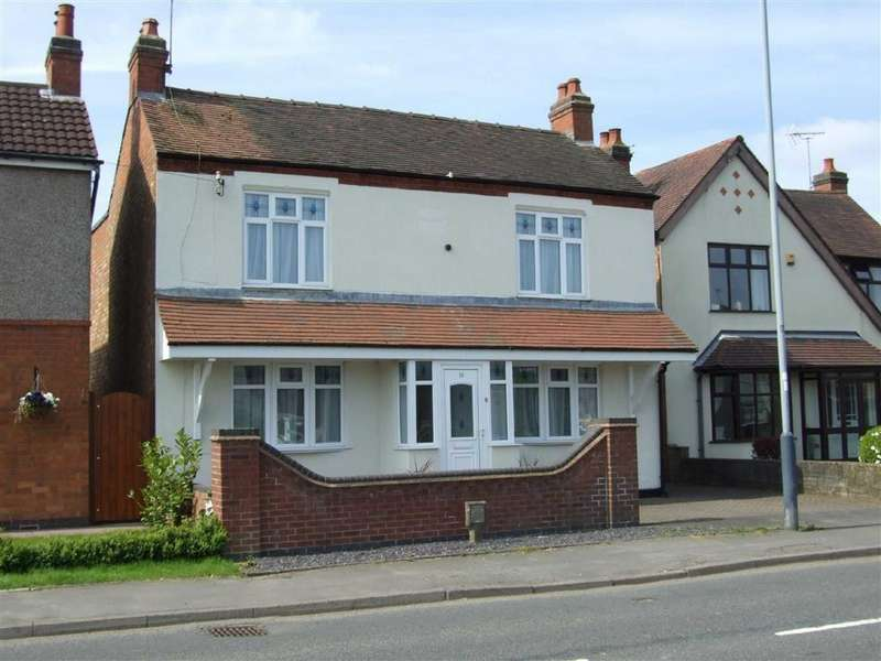3 Bedrooms Detached House for sale in Rugby Road, Bulkington