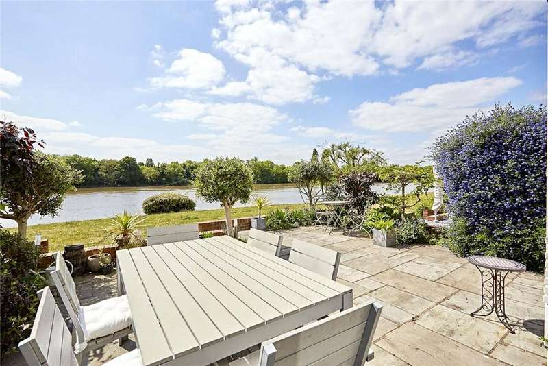 5 Bedrooms Terraced House for sale in Chiswick Quay, Chiswick, London, W4