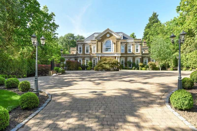 7 Bedrooms Detached House for sale in Wentworth Estate, Surrey, GU25