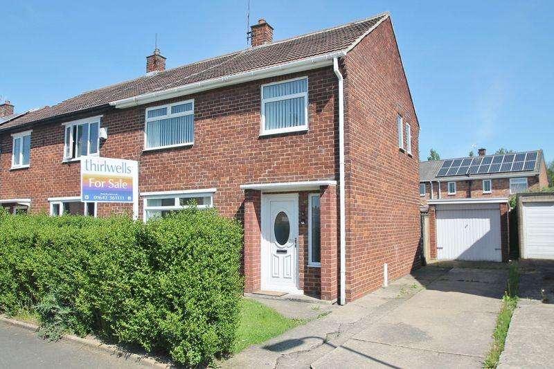 3 Bedrooms Semi Detached House for sale in Hollinside Road, Billingham