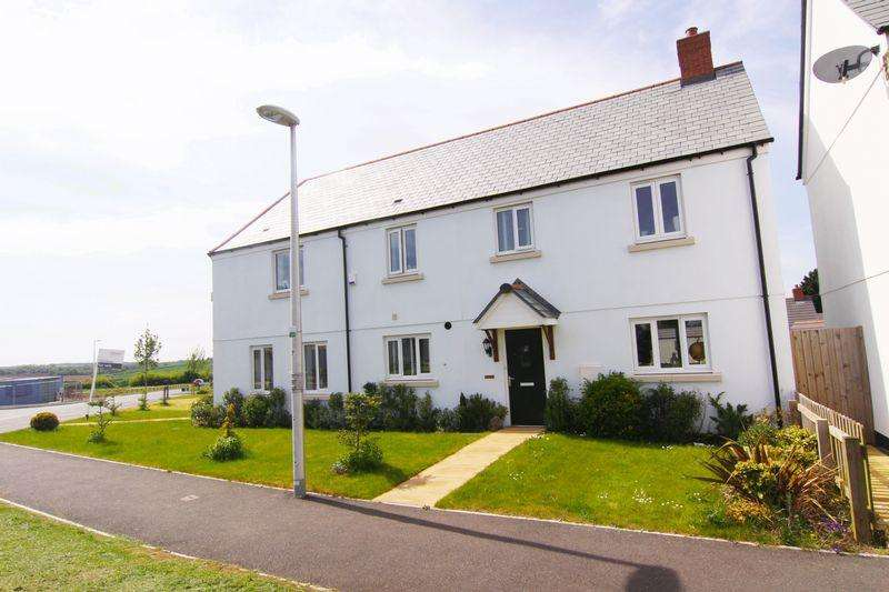 3 Bedrooms End Of Terrace House for sale in Cottles View, North Tawton