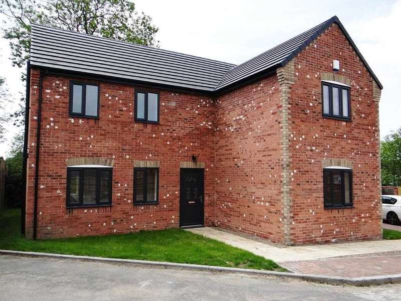 4 Bedrooms Detached House for sale in Church Road, Stanfree, Chesterfield