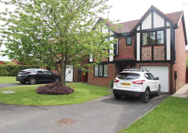 4 Bedrooms Detached House for sale in Daylesford Road, Hartford Dale, Cramlington