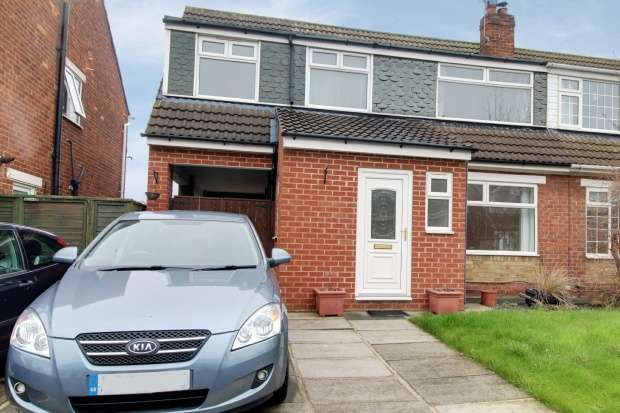 4 Bedrooms Semi Detached House for sale in Westgarth Close, Redcar, Cleveland, TS11 6BA