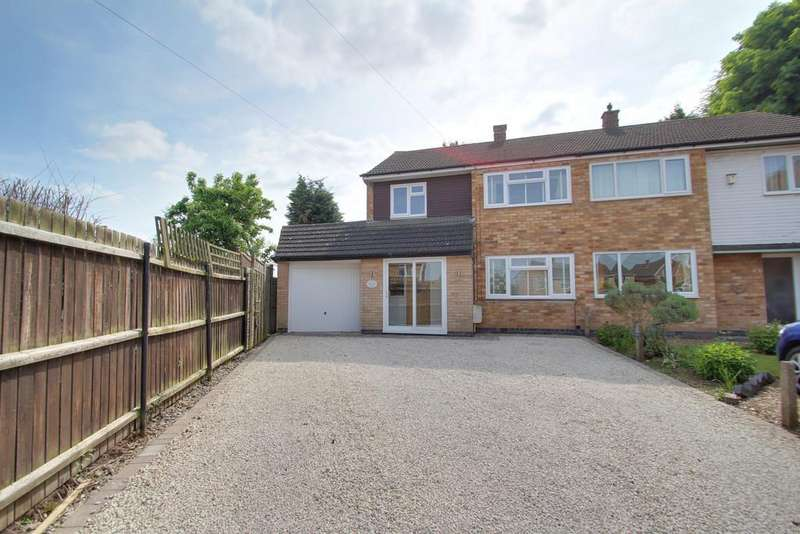3 Bedrooms Semi Detached House for sale in Laxton Close, Birstall