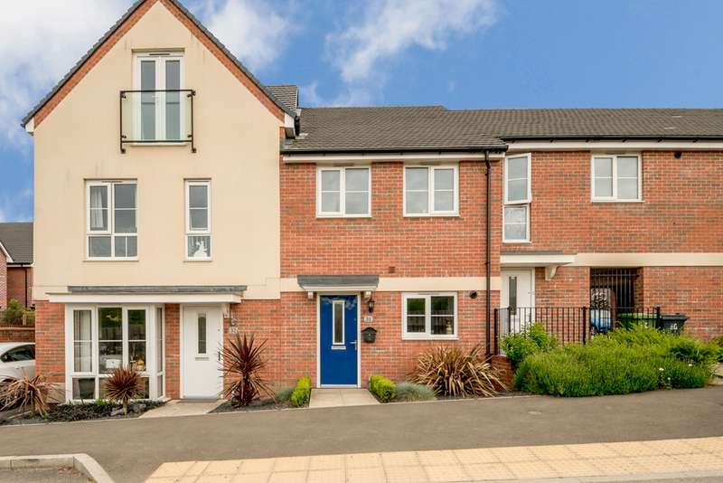 2 Bedrooms Terraced House for sale in Sir Bernard Paget Avenue, Repton Park TN23