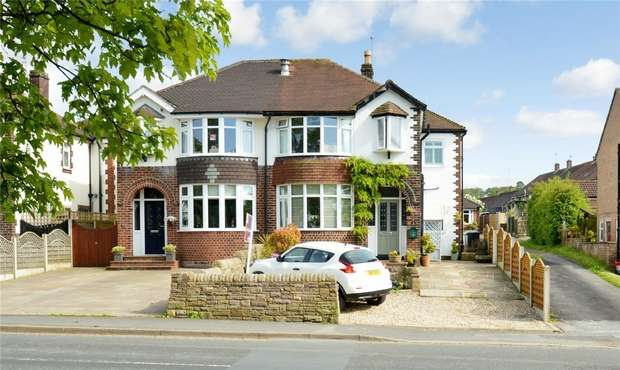3 Bedrooms Semi Detached House for sale in Walker Lane, Sutton, Macclesfield, Cheshire