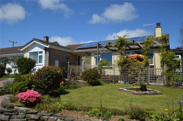 3 Bedrooms Detached Bungalow for sale in Tower Park, Pelynt, Looe, Cornwall