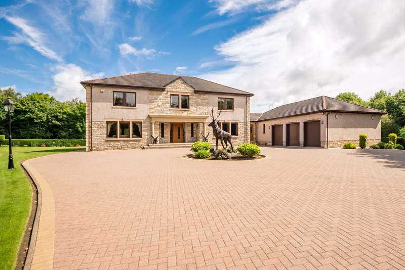 4 Bedrooms Detached House for sale in Parklands, Benvane Road, Glenrothes, Fife, KY6