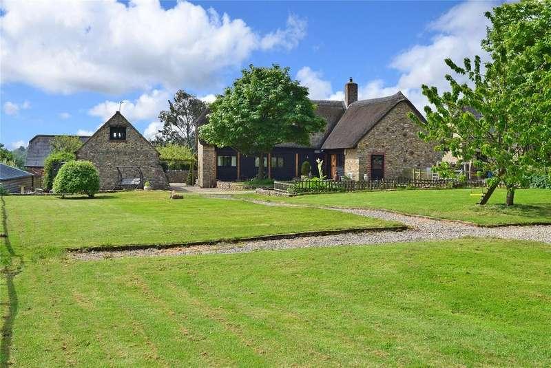4 Bedrooms Barn Conversion Character Property for sale in Dulcis Farm, Kilmington, Axminster, Devon