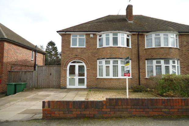 3 Bedrooms Semi Detached House for sale in Bramcote Road, Wigston Fields, Leicester, LE18