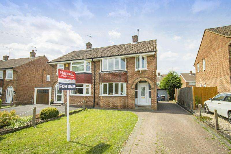 3 Bedrooms Semi Detached House for sale in Blenheim Drive, Derby