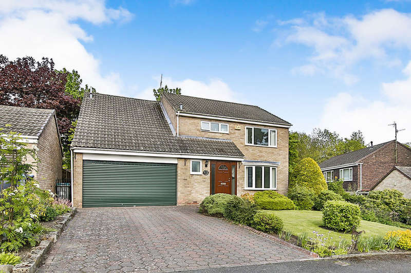 4 Bedrooms Detached House for sale in Salisbury Close, Shotley Bridge, Consett, DH8
